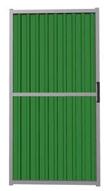 Калитка из профлиста зеленая